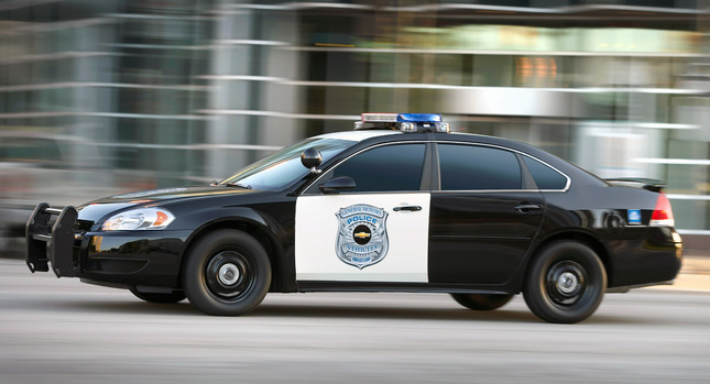 2012 Chevy Impala Police Car