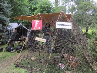 D-Day WWII Reenactment, German Encampment
