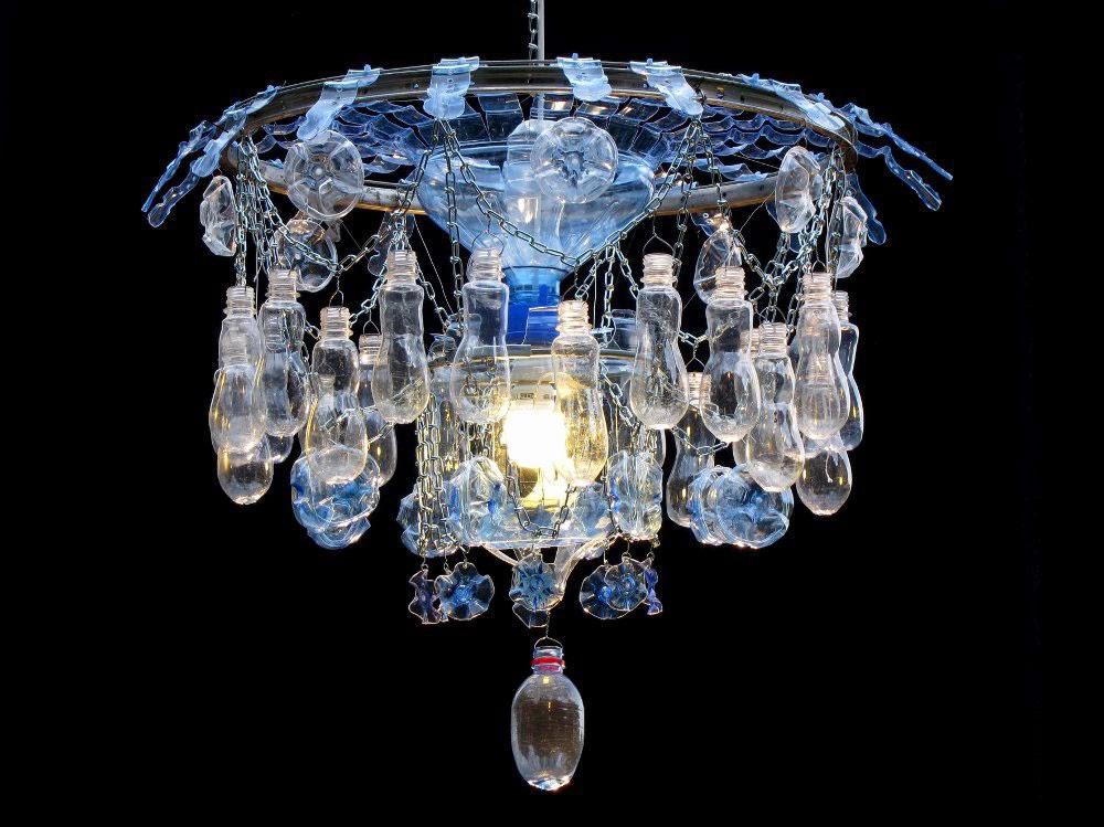 Artist Veronika Richterov 225 Recycles Plastic Bottles Into