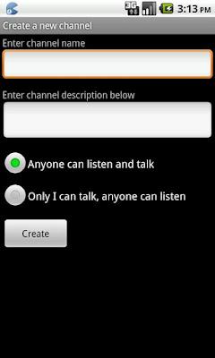 Loudtalks app
