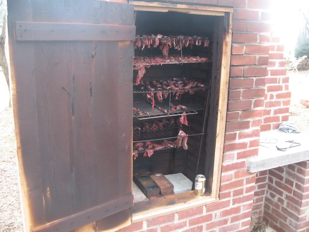Image gallery homemade brick smoker plans - Building your own brick smokehouse in easy steps ...