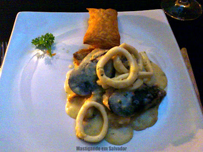 Confraria Mediterrâneo: Vol au Vent de Frutos do Mar