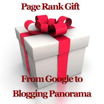 Google Page Rank Gift