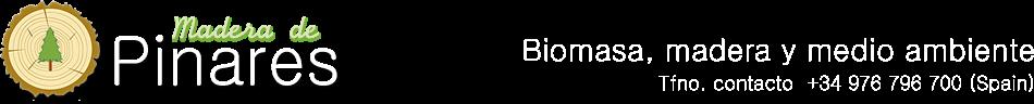Madera de Pinares. Biomasa y energía. Venta de pellets, leña, briquetas, astillas. Gestión forestal.
