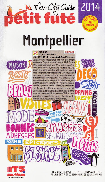 Article dans le Petit Futé Montpellier édition 2014.