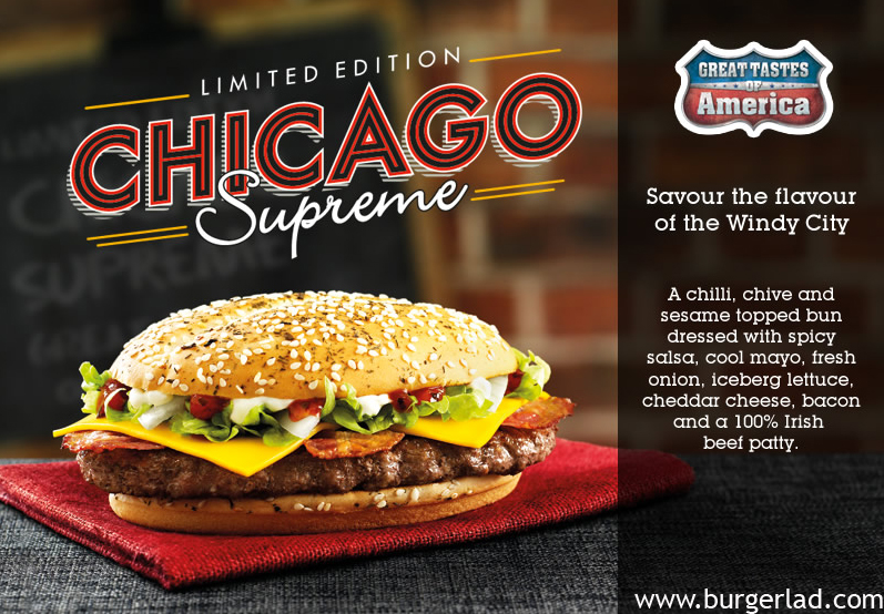 Burger Lad McDonald's Chicago Supreme