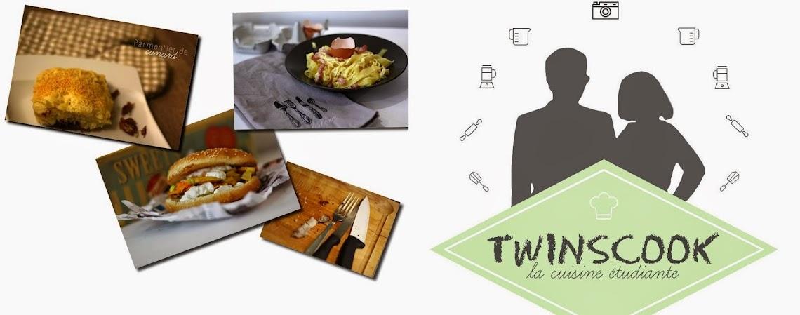 TwinsCook - la cuisine façon étudiant