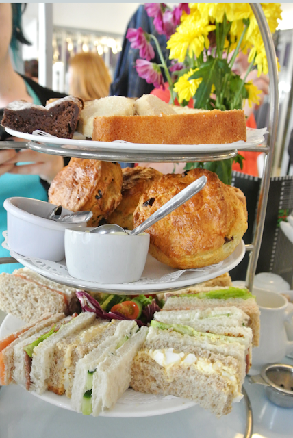 Afternoon tea at The Willow Tea Rooms