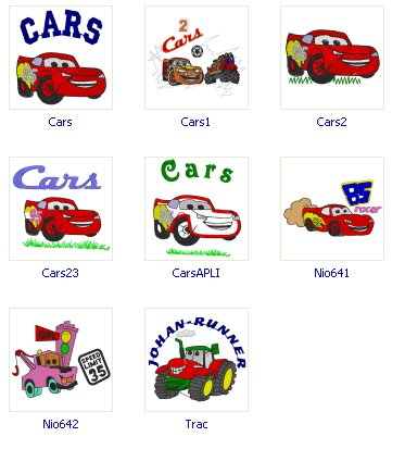 Cars 8 Free Embroidery Designs Free Machine Embroidery Designs