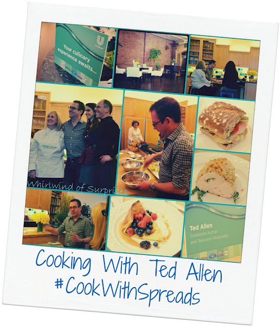 Cooking With Ted Allen, #CookWithSpreads