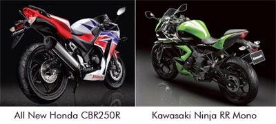 Kelebihan Kekurangan Ninja RR Mono & New CBR250R