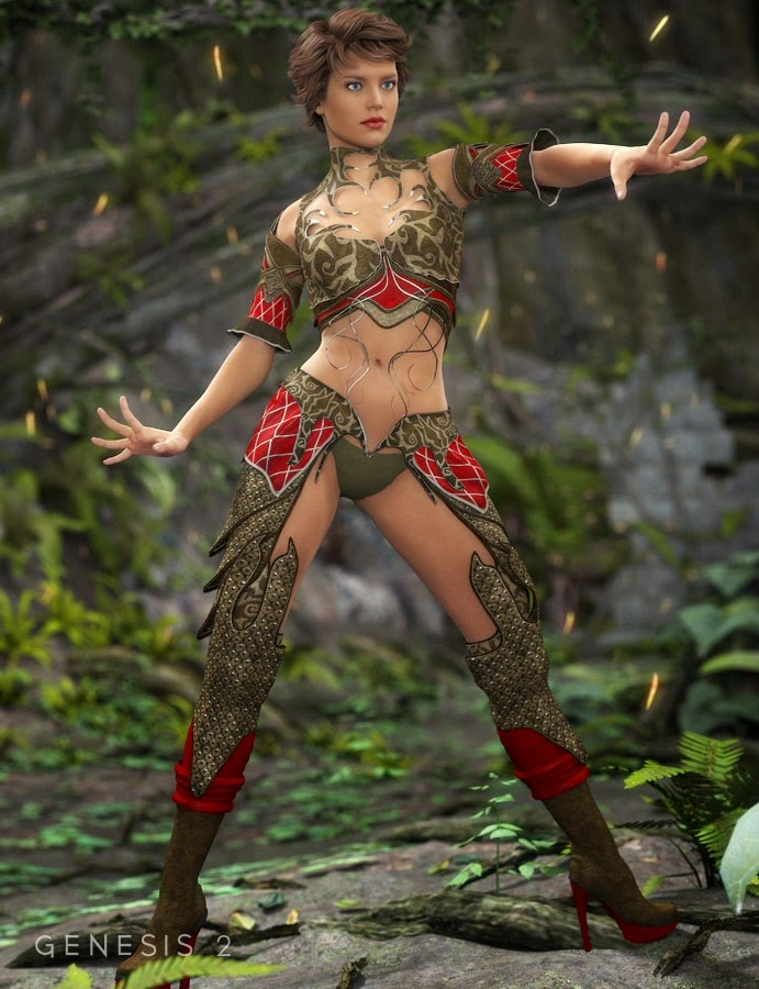 Elfes Noirs Enchantress Textures