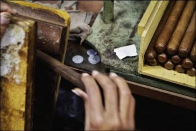 Charutos Cohíba produzido exclusivamente para Fidel Castro