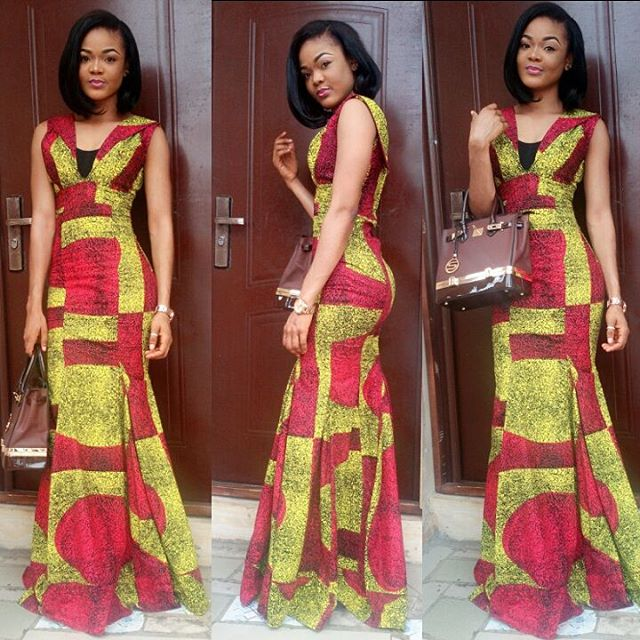 Beautiful Long Gown Ankara Styles Dresses - DeZango Fashion Zone