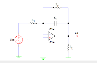 practical op amp integrator