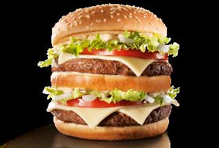 McDonald's lança novo sanduíche que tem mais gordura que sete colheres de manteiga
