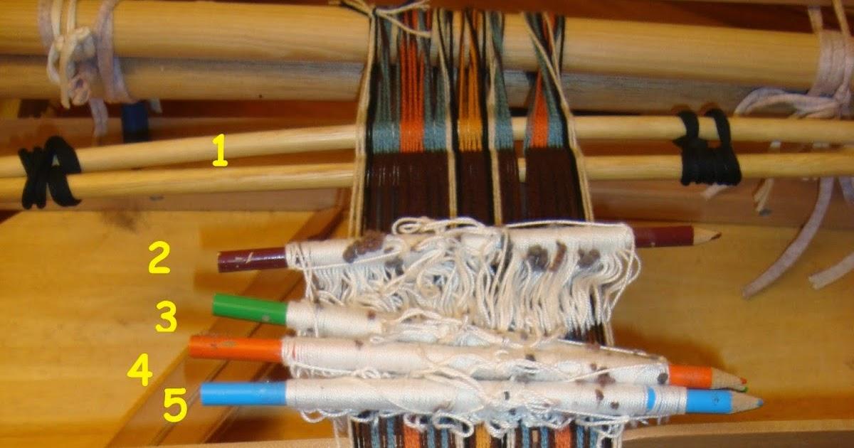Giosennifer come tessere delle strisce colorate su un telaio a pettine liccio decorazioni - Telaio da tavolo per tessitura a mano ...