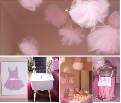 baby girl so a pink tutu themed event was perfectly girly here are