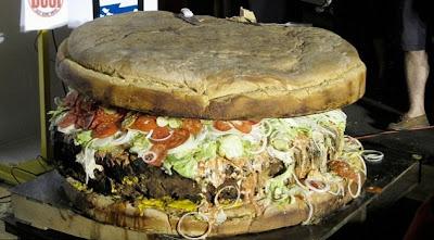 world largest hamburger
