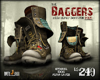 Baggers Men's heavy boots