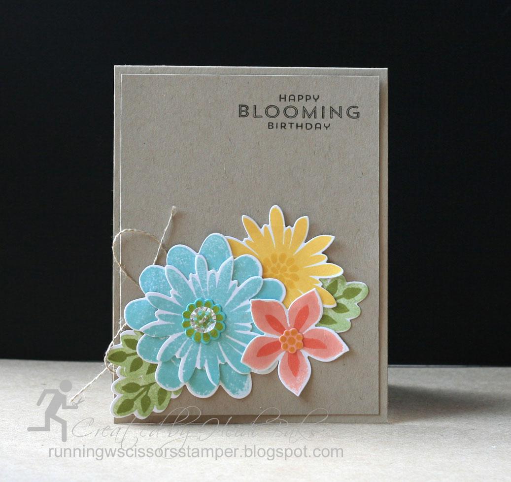 RunningwScissorsStamper Stampin Up Flower Patch