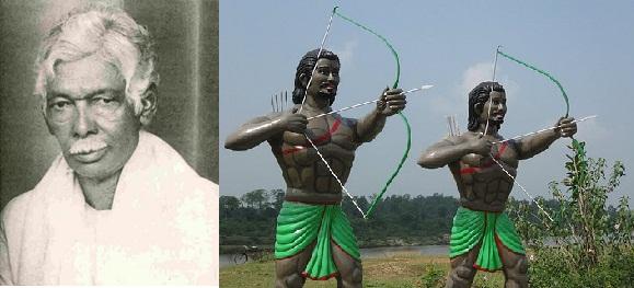 Pandit Raghunath Murmu & Sidu & Kanhu Murmu