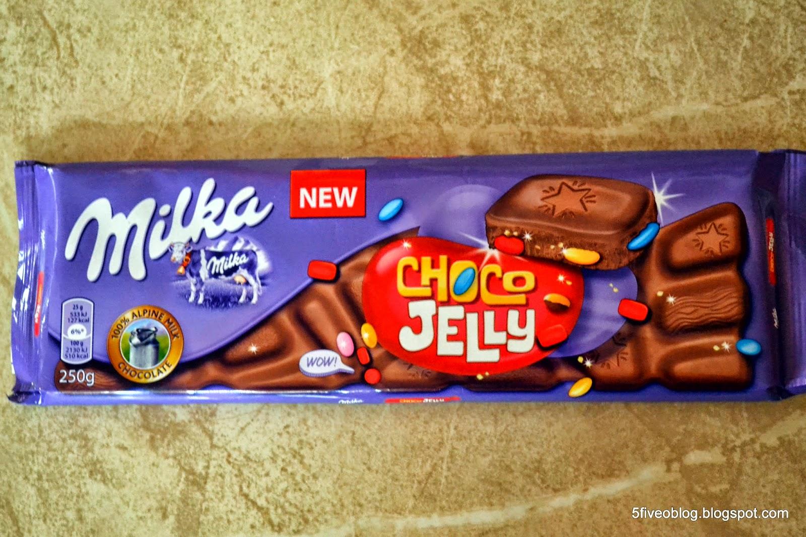 Niebo w gębie czyli Milka Choco Jelly