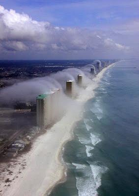 K Tori's Panama City Beach Géoclimat: Nuages spectaculaires à Panama City Beach (Floride)