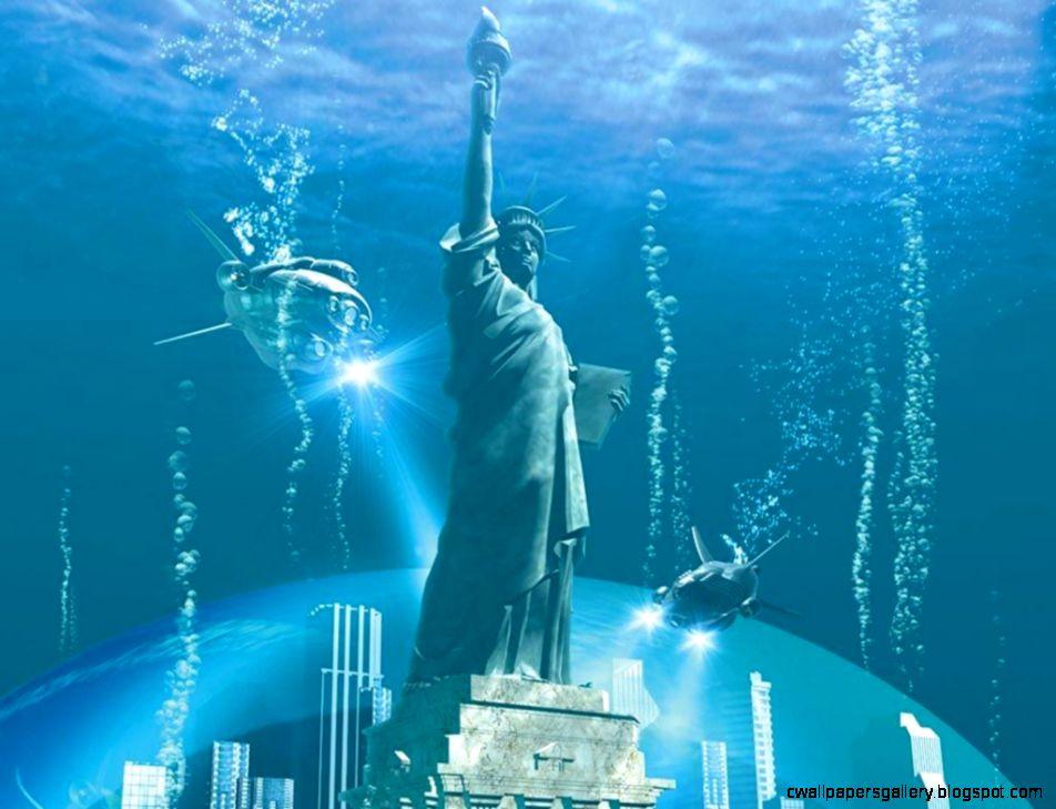 3D Desktop Water Backgrounds
