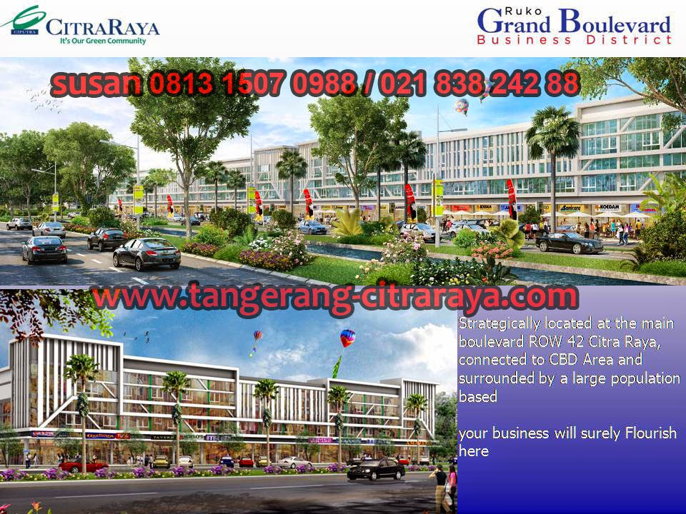 Ruko Grand Boulevard Business District Citra Raya