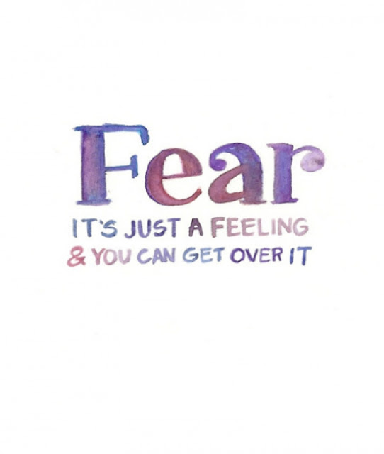 image quotation fear