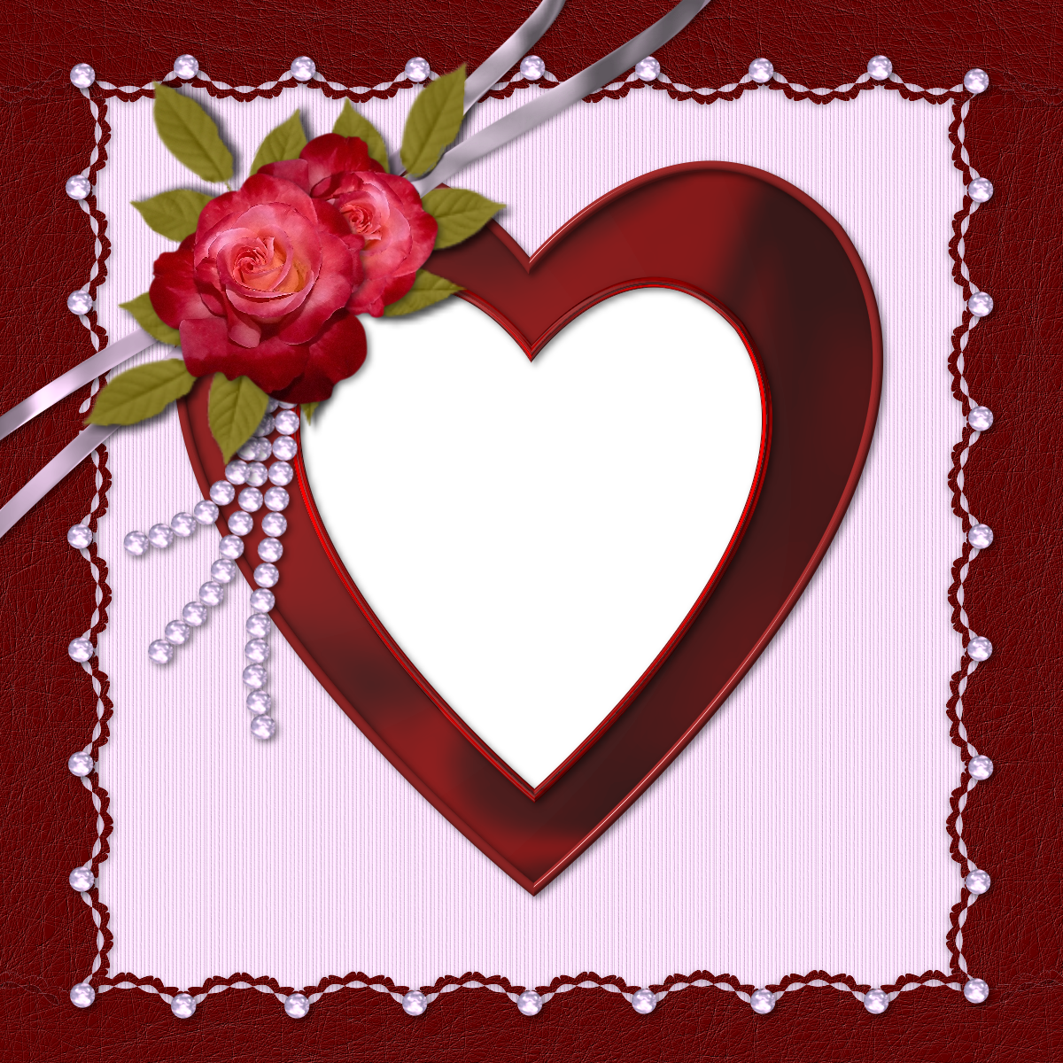 Heart Frames For Pictures 111 free PNG Frames