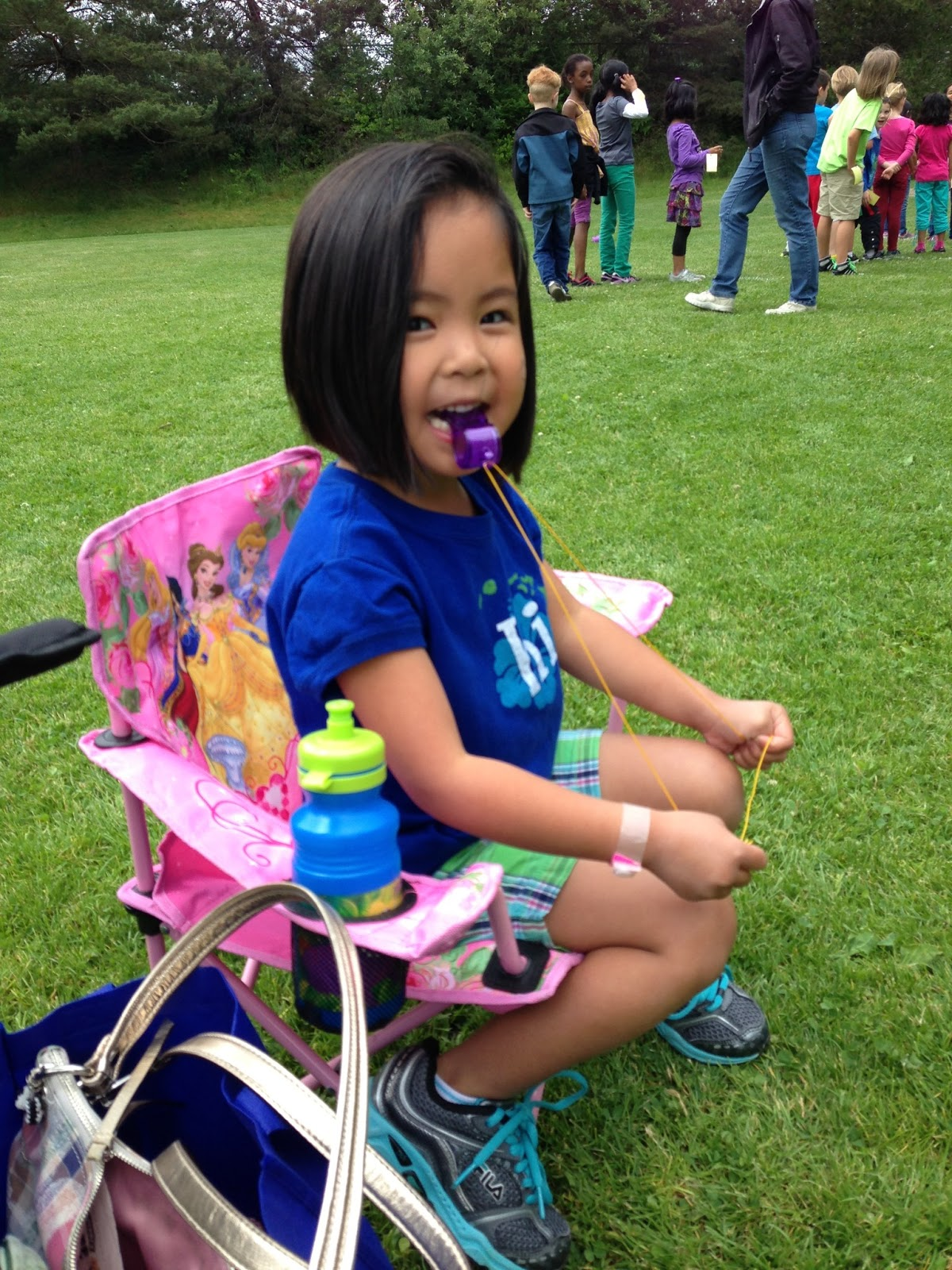 Mommyhood in the Quah: Evan's Field Day