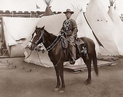 Martha Jane Burke, AKA Calamity Jane. 1901