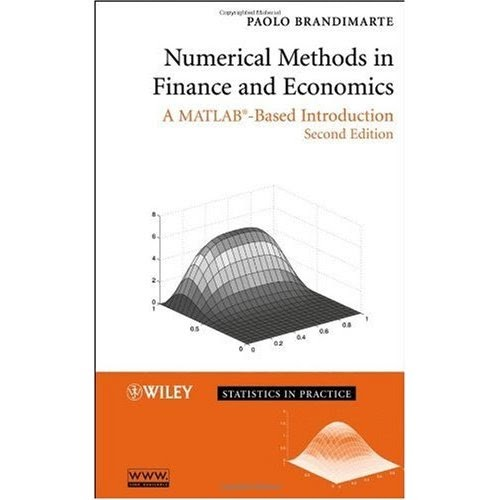 numerical methods in finance & economics_ a matlab-based introduction pdf
