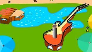 Jugo amb la guitarra elèctrica