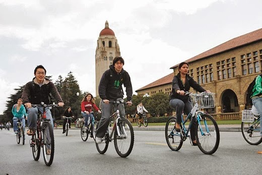 bike sharing Stanford. California, USA  Campus Bicycle Coordinator