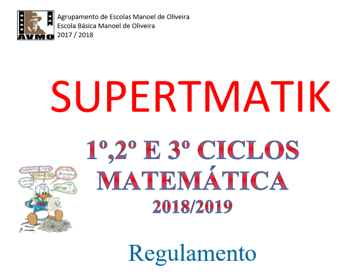 Matemática:Concurso/Jogo de Cartas  SUPERTMATIK