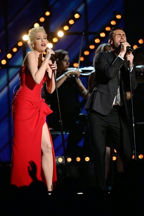 "Adam Levine & Gwen Stefani Hit a Grammy Home Run with ""My Heart is Open"""