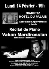 Récital Piano Vahan Mardirossian