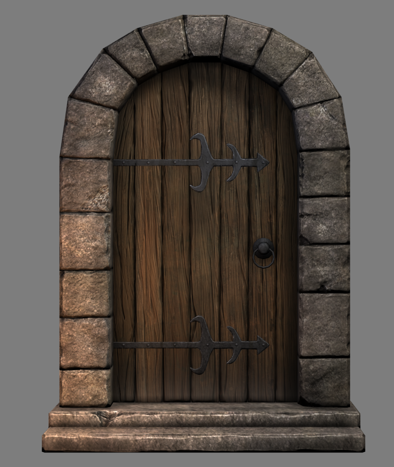 Pics For Gt Medieval Dungeon Door