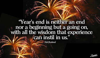 Quotes New Year 2016 Greeting Card