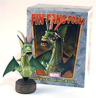 Fin Fang Foom (Marvel Comics) Character Review - Mini Bust Product