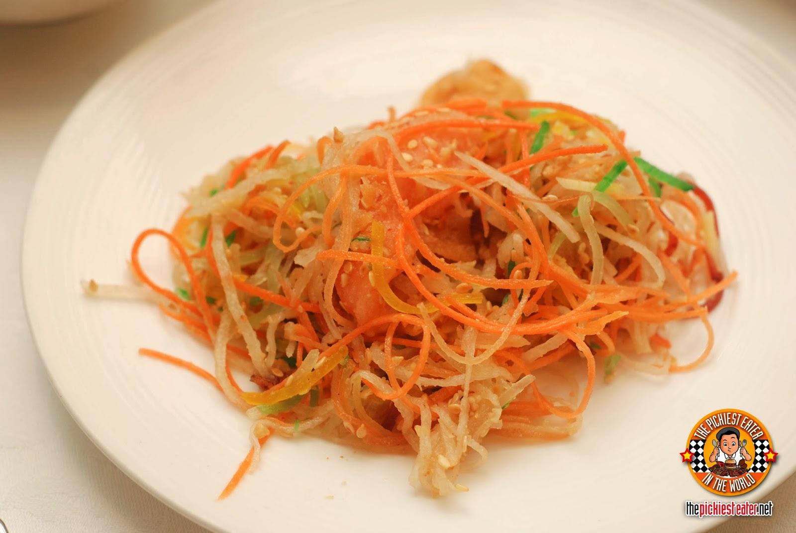 Yee Sang Shang Palace Makati Shang Yee Sang Salad