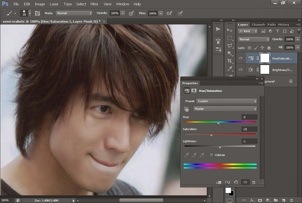 Cara Membuat Semi Realistic Dengan Photoshop