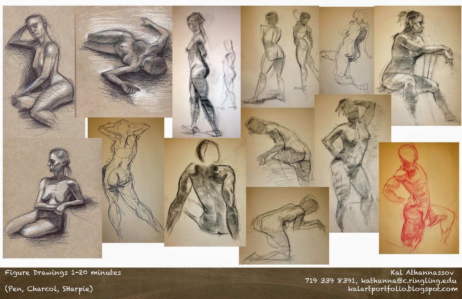 Vis dev portfolio figure drawing kaloyan