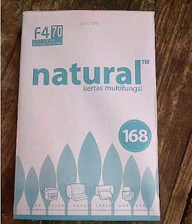 kertas natural f4 70 gram