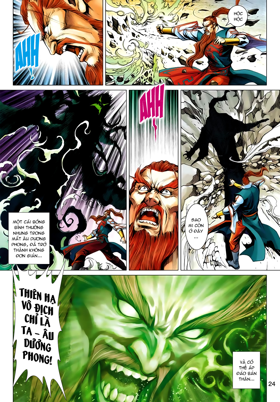 Xạ Điêu Anh Hùng Truyện chap 100 – End Trang 24 - Mangak.info