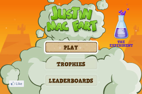 Justin Mac Fart Free App Game By Molecube