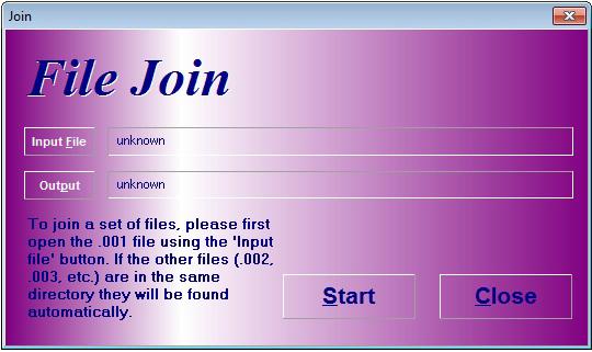 HJSplit File Split